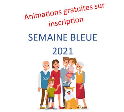 Semaine bleue 2021